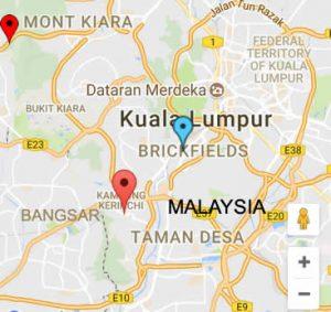 Malaysia locations